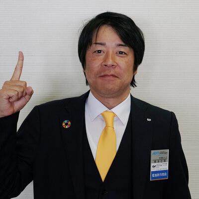 副団長兼監査担当役員 鳴海宏樹